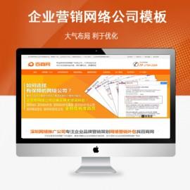 [DG-013]企业网站模板SEO优化网络公司整站数据帝国cms模板(带手机端)
