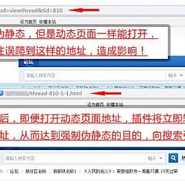 Discuz强制伪静态地址插件seo V6.2破解版(exx_rewrite)
