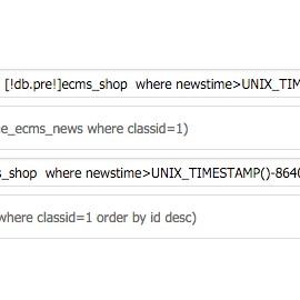 帝国CMS自定义列表如何调用1个月内发表的信息?(附简单的实现方法)
