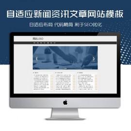 [DG-0243]自适应新闻资讯帝国cms模板 响应式科技资讯文章模板下载