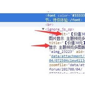 【绝版插件】贴内alt及title优化 2.0商业版dz插件,Discuz贴内图片自动添加title及title标签
