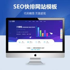 [DG-011]帝国cms大气营销性网络SEO优化公司网站模板