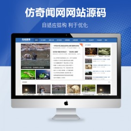 [DG-005]帝国cms模板仿奇闻网新闻资讯博客模板