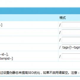 帝国cms怎么设置TAG伪静态?(帝国CMS 7.5 程序tags伪静态设置教程)